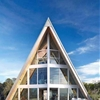 A-Frame Residence, New York, USA by Bromley Caldari Architects | via This striking looking A-Frame Residence is the result of an architecture conversion delivered by New York City-based studio Bromley...
