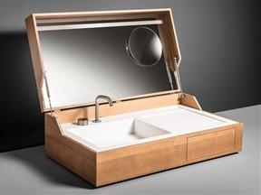 Bathroom Sink in a Box: Hidden by Makro