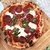 Pizza With Hot Soppressata, Mozzarella, Chilies, and Honey