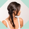 How to: The Messy, Side Fishtail Braid