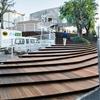 Kengo Kuma uses a grand staircase to transform a Tokyo warehouse into a shop
