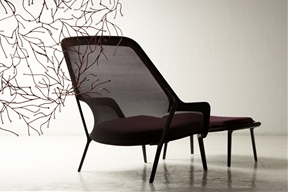 Spacious and Cozy Modern Armchair Defined By a Lightweight Structure