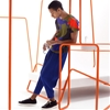 Tubular installation forms backdrop for Issey Miyake menswear campaign