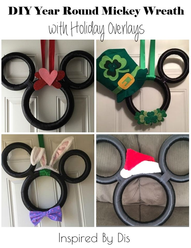 he holiday overlays can be as simple or as elaborate as you want. Michelle has given us a few examples, and will hopefully continue to send new pictures throughout the year as she updates the wreath!\n\n