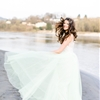 Barefoot Bridal Session on the Beach