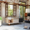 Wood and Copper Mobile Kitchen by Miras