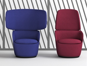 Radar chairs by Claesson Koivisto Rune channel conversation