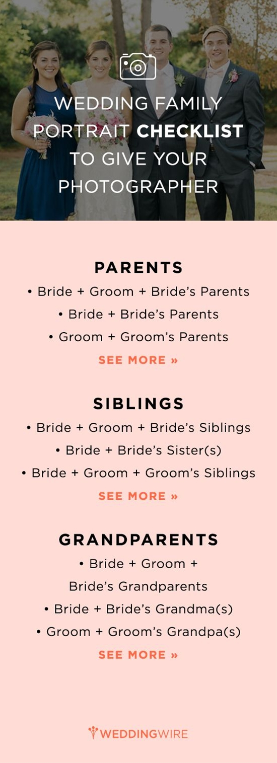 Get our checklist for family photo op combination ideas!