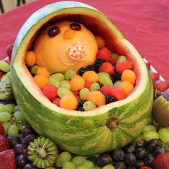 My aunt shared this with me. This is so cute! What a great idea for a baby shower!