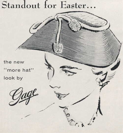 """Standout for Easter"" (April 1954)"