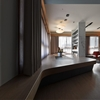 Unconventional Apartment in Taiwan With Striking Custom-Made Furniture Elements