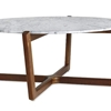 High/Low: Marble-Topped Coffee Tables