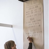 Blank Slate: Wall-Mounted Kraft Paper