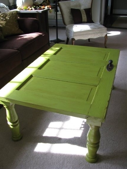 Door turned table