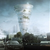 Proposal unveiled for tornado-shaped skyscraper with a revolving rooftop restaurant