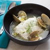 Halibut à la Nage With Clams, Dill, and White Wine