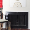 Before & After: Fireplace Gets a Quick Renter-Friendly Makeover