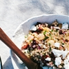 Couscous Salad with Fresh Cherries