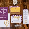 Eclectic Yellow, Plum & Marsala Wedding Ideas