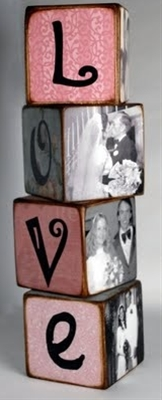 Photo Letter Blocks