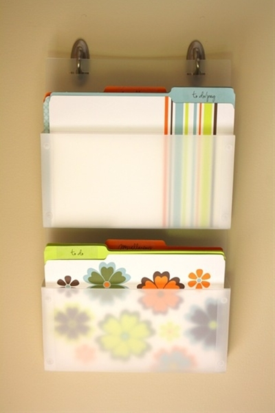 Mail Organization!! This is so smart & would help me out big time