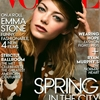 Emma Stone Wears Gucci Prints on Vogue US May 2014 Cover