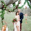 Eco-Friendly California Wedding with Marsala
