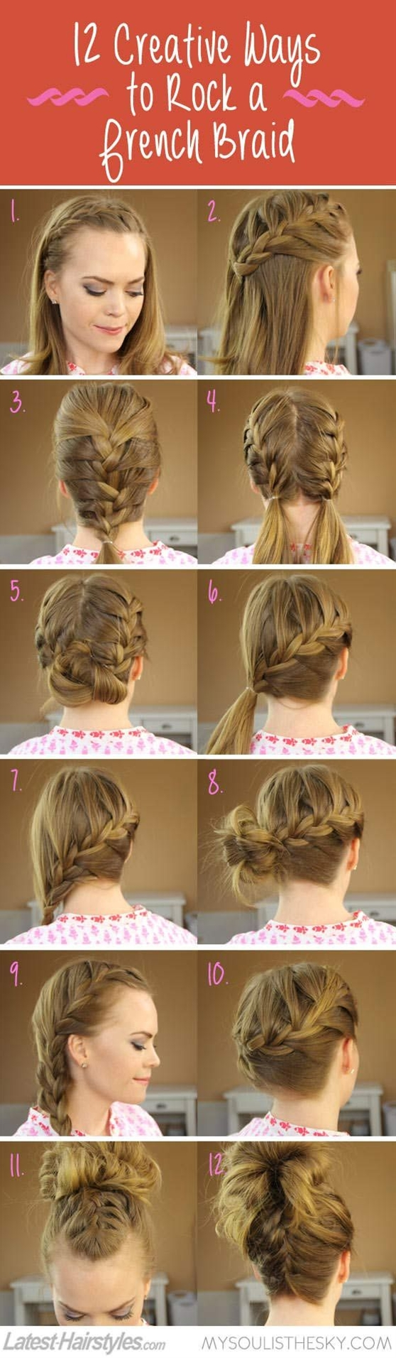 Since the braid trend still hits the top charts, it is the best time to impress everyone by showing off an eye-catching braided hairstyle! Thus, take a look at the gorgeous braided styles presented below and find out how to get braided styles that will make you steal the attention!