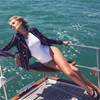Toni Garrn Gets Nautical for The Edit, Talks Her Career