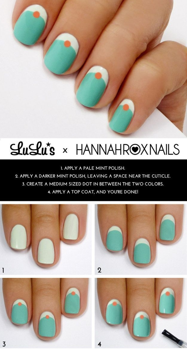 A ways to get your nails ready for the spring. These are cute & quirky. :)