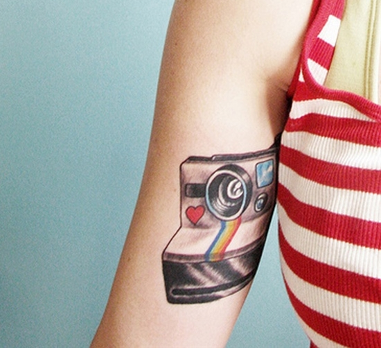 polaroid tattooo
