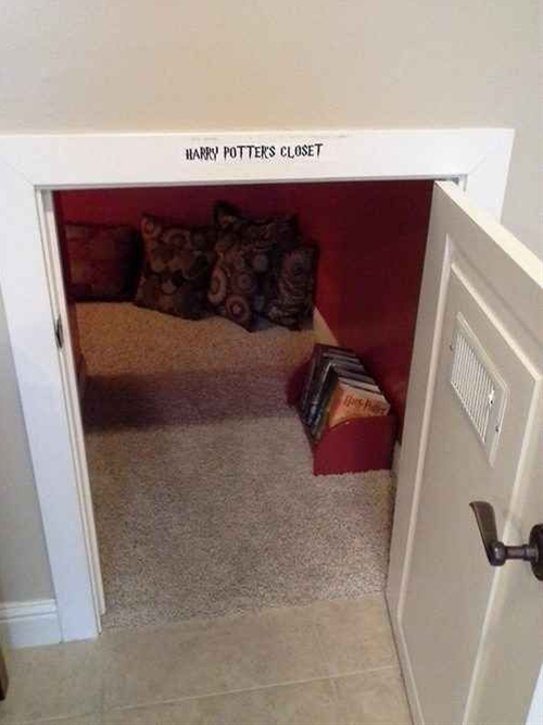 Harry Potter approved reading nook