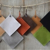Rustic Suede Pot Holders, Made in Upstate New York