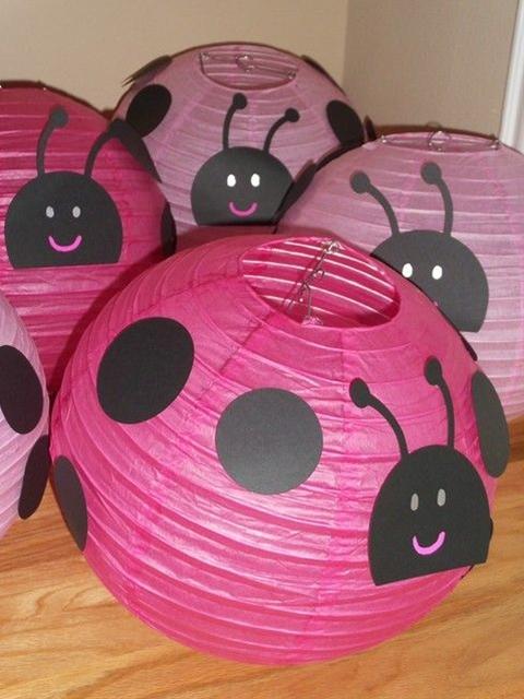 Blanche R's Birthday / Pink Ladybugs