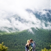 Outdoorsy and Adventurous Engagement Shoot in the Pacific Northwest