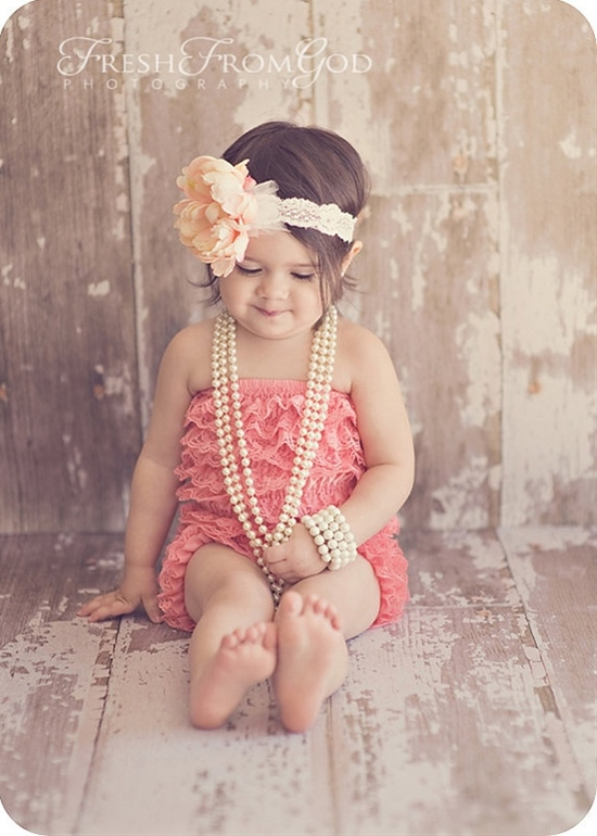 Cute romper for photos