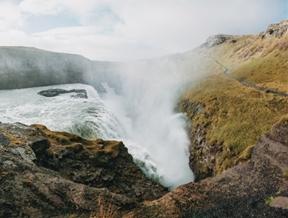 Gulfoss, Iceland by Finn Beales (notes.madebyfinn.com)