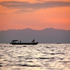 Fisherman on Lake Tanganyika, Nyanza Lac, Burundi by Sofie De...