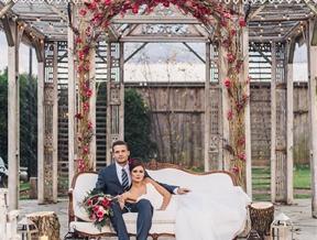 Romantic Styled Wedding at Terrain