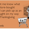 Thoughtless Thanksgiving.