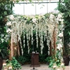 Botanical Garden Wedding with Glass Ceilings
