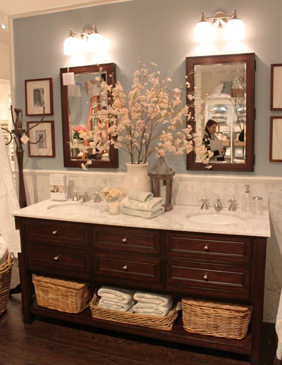 Pottery Barn bath