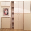 Adapt IKEA METOD cabinets into a full length wardrobe