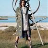 Jacquelyn Jablonski Models Layered Fall Looks for Matt Jones Shoot in Elle Italy