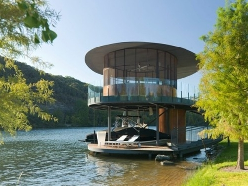 boat house - lake austin