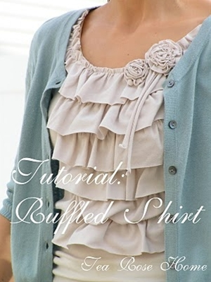 ruffled shirt #shirt