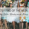 Etsy Find of the Week: The Retro Bridesmaid Dress