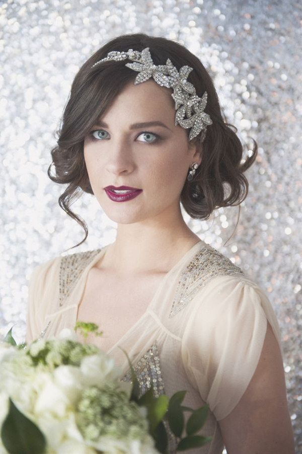 you could make this head band with the bead things Marie found for you!