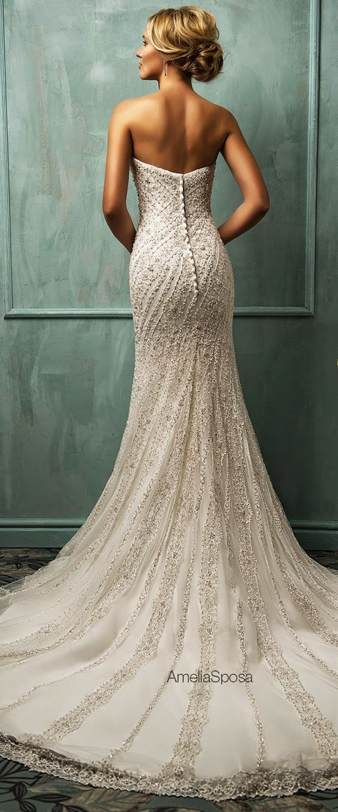 Check these out. So pretty! Amelia Sposa 2014