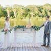 Soft Pastel Waterside Wedding